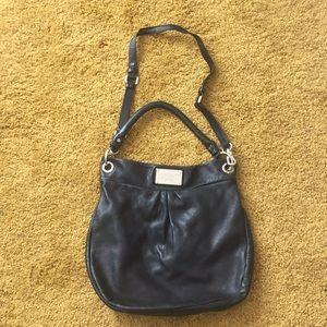 Marc by Marc Jacobs Hiller Black Leather Hobo Bag